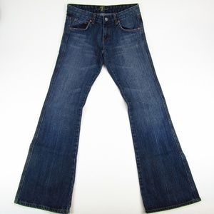 7 For All Mankind Bootcut A Pocket Womens Jeans